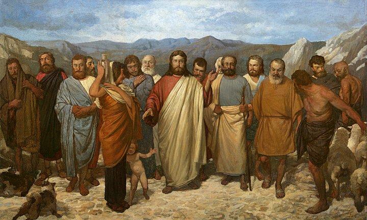 Андрей Миронов – Христос с учениками