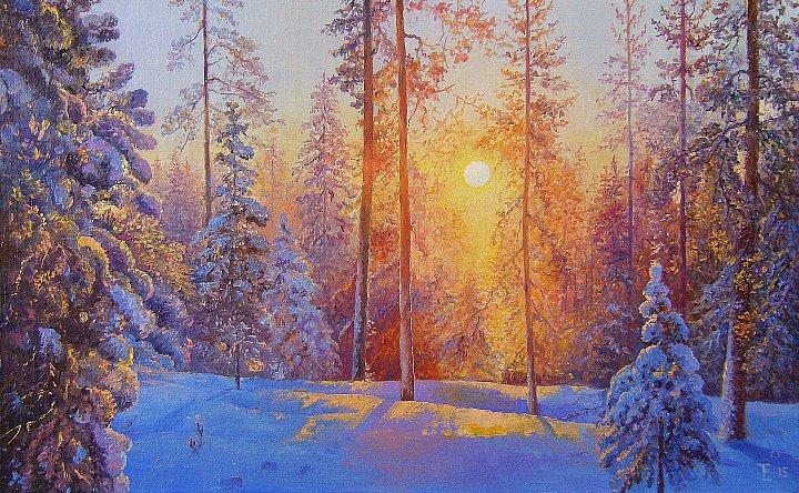 Елена Терпиловская – Волшебство заката