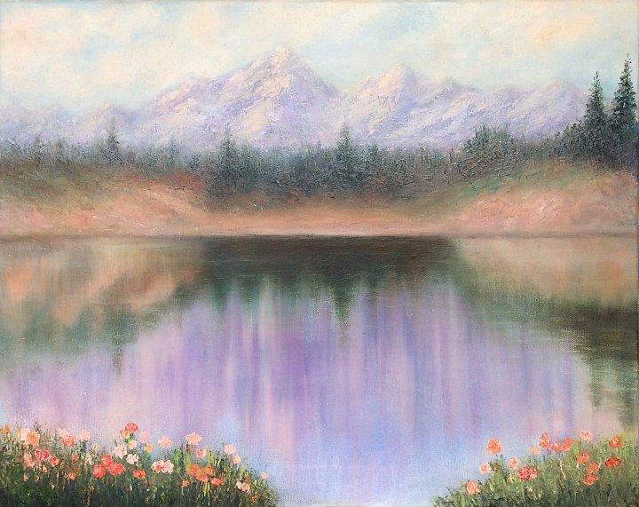 Весна в горах