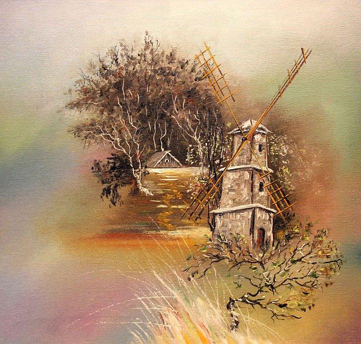 Пейзажи современного художника npahomov
