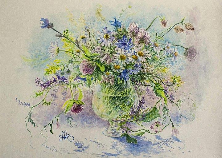 Анна Абрамова – Цветы из нашего двора