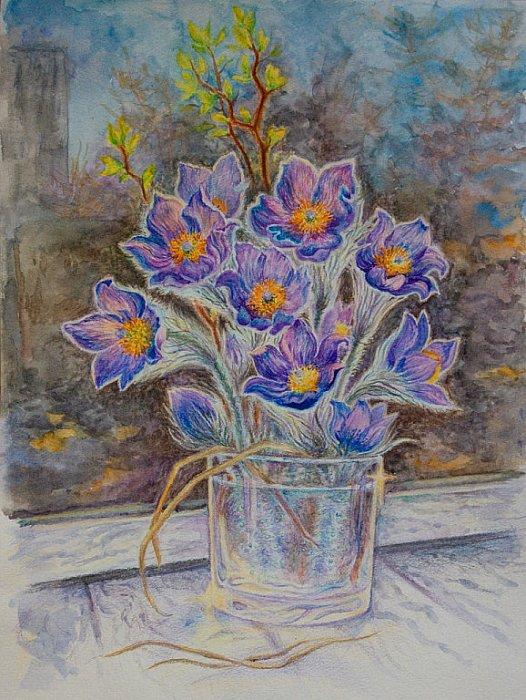 Анна Абрамова – Первые цветы