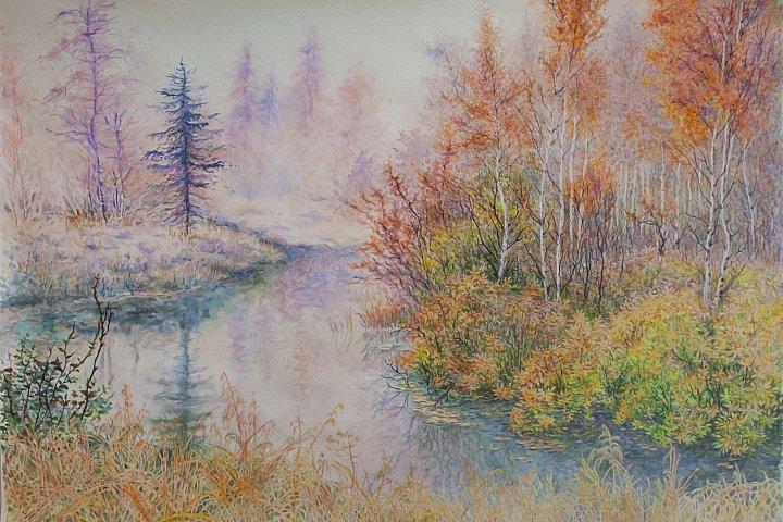 Анна Абрамова – Сиреневый туман