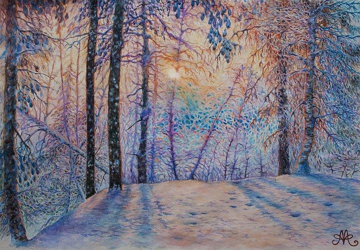 Анна Абрамова – Зимнее солнце