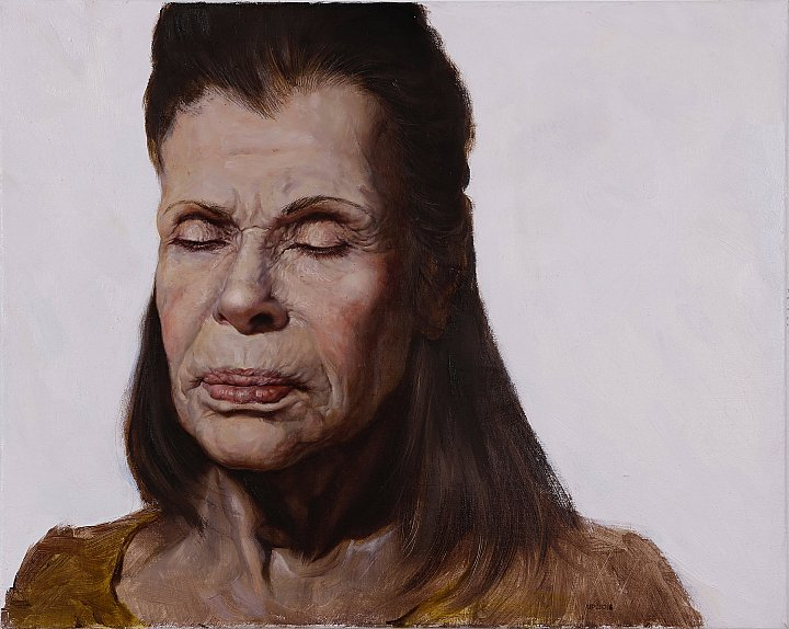 Norma, 2018 16 x 20 inches, oil on canvas ~ Scherer & Ouporov