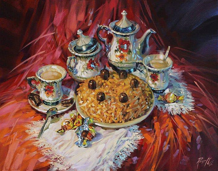 Светлана Рогозина – Чаепитие. Чай. Чак-чак