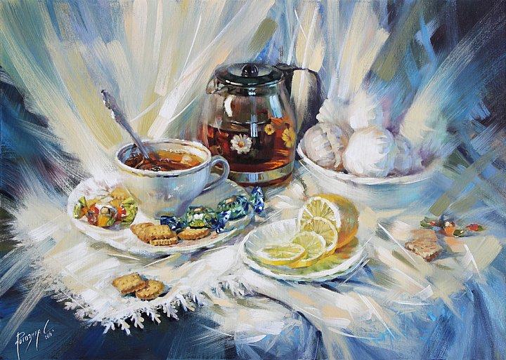 Светлана Рогозина – Чайный натюрморт