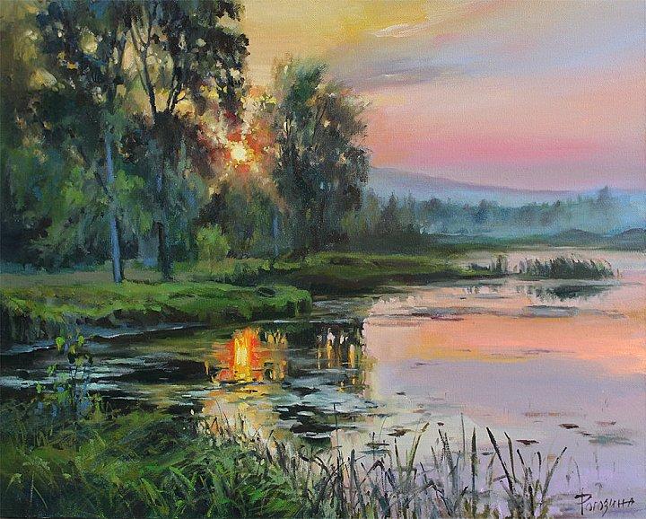 Светлана Рогозина – Летний вечер