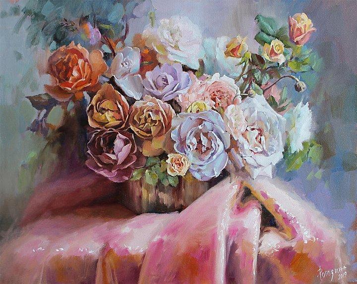 Светлана Рогозина – Праздничные розы
