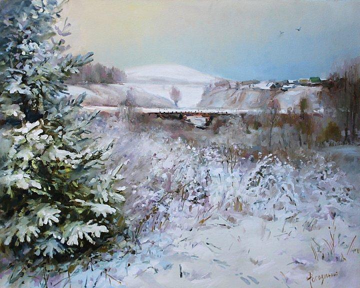 Светлана Рогозина – зимний мост