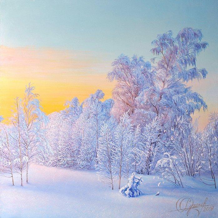 Роман Суханов – На зимней опушке. Морозные узоры чудесницы зимы