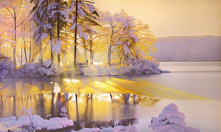 Зимнее золото