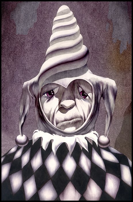 Sad Clown ~ Romeo Schitco