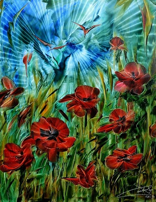 Romokhov Poppy flowers 2014 ~ ART
