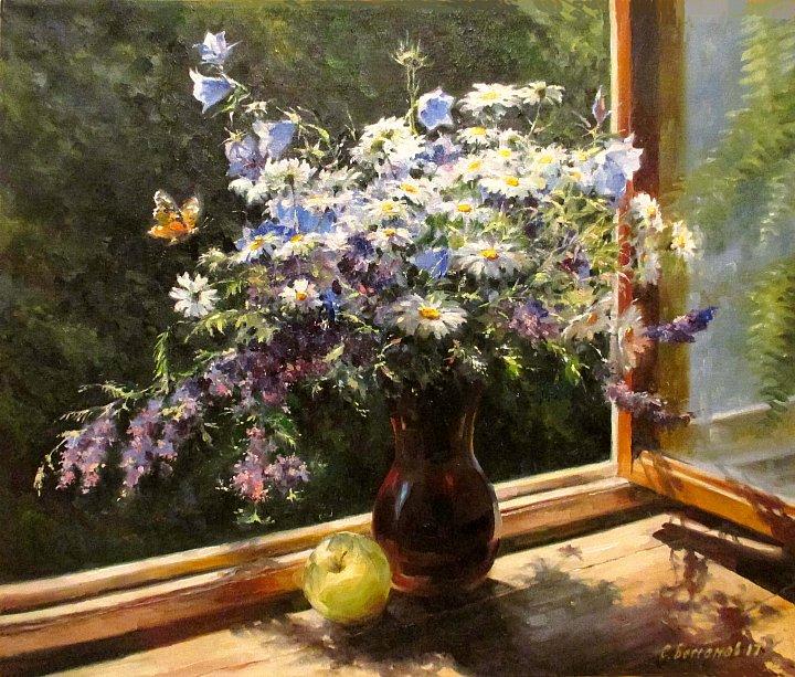 Сергей Бессонов – Букет на окне
