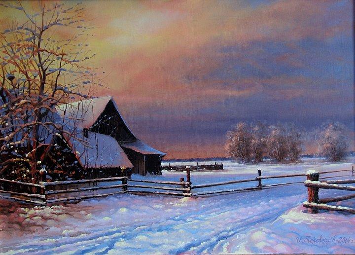 Переверзев Игорь – Зима на хуторе