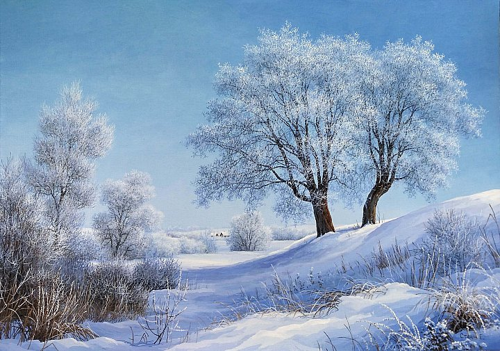 Евгений Стаин – Морозный день