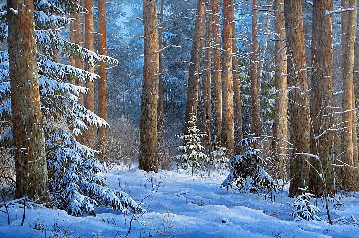 Евгений Стаин – Зимняя прогулка