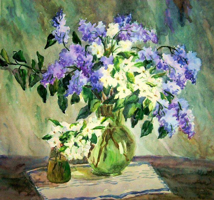Степанычева Нина – Цветы весны