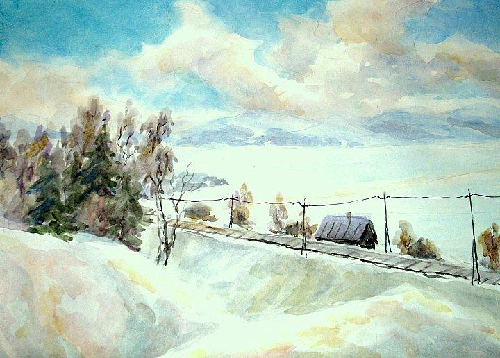 Степанычева Нина – Дорога над озером
