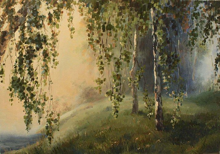 Елена Тараканова – Туманное утро