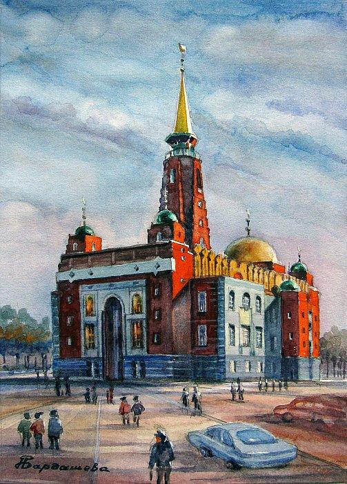 Наталья – Г. Самара, Соборная мечеть