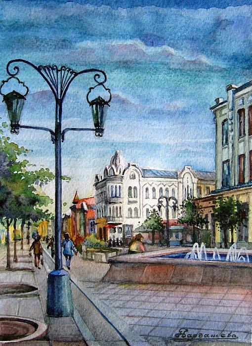 Самара, ул. Ленинградская пешеходная