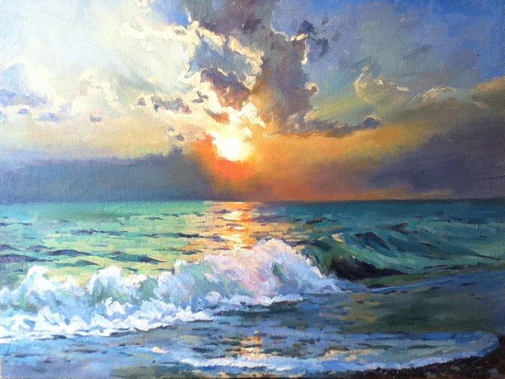 Tanya Balaeva – Закат на море