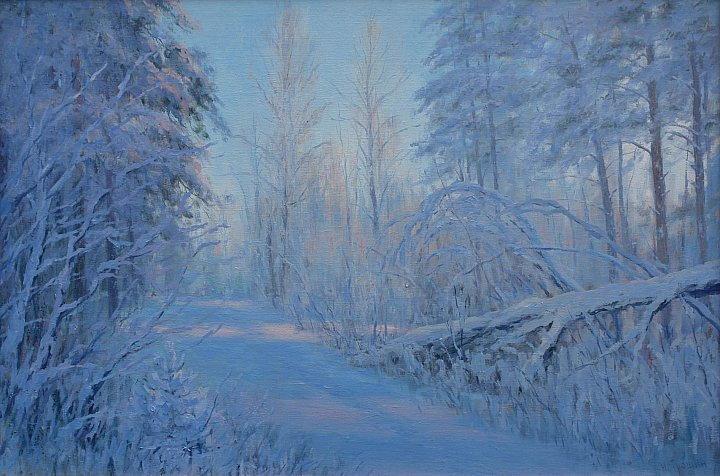 Николай Трошин – Зимнее утро