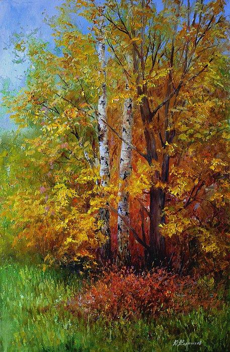 Юрий Карпиков – краски осени