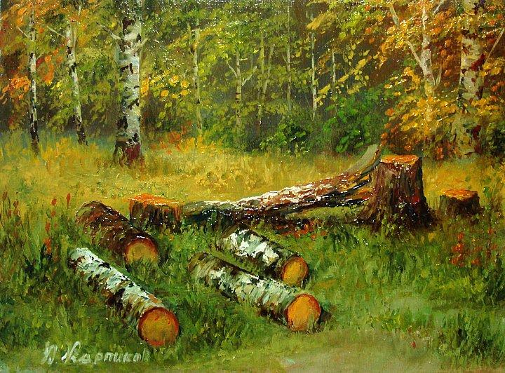 Юрий Карпиков – на поляне