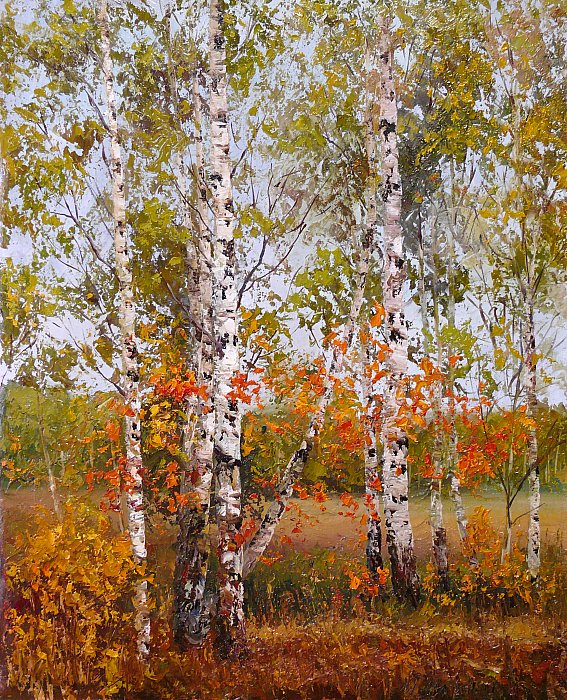Юрий Карпиков – осенняя мозаика