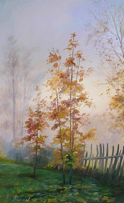 Юрий Карпиков – туманное утро