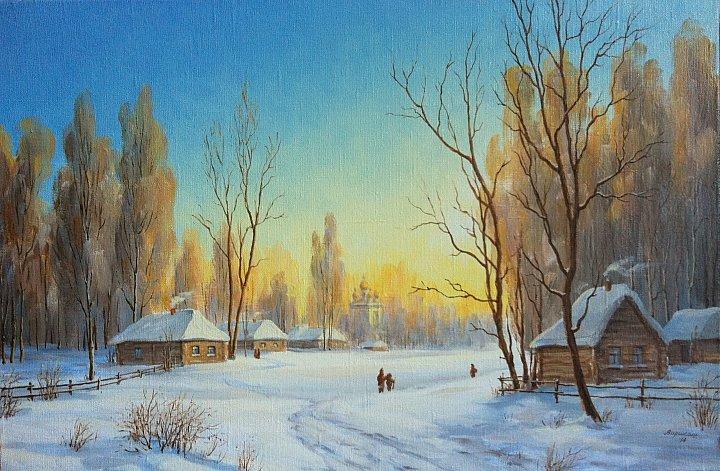 Александр Варикаш – Зимнее утро
