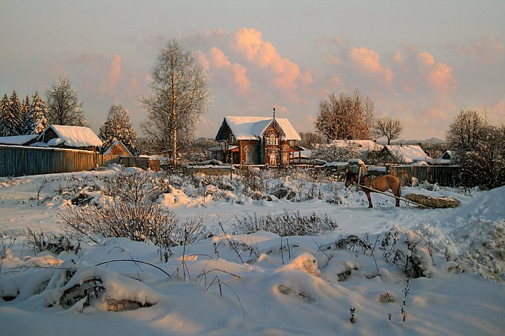 Валерий Ниминущий – Зимний вечер в Селище