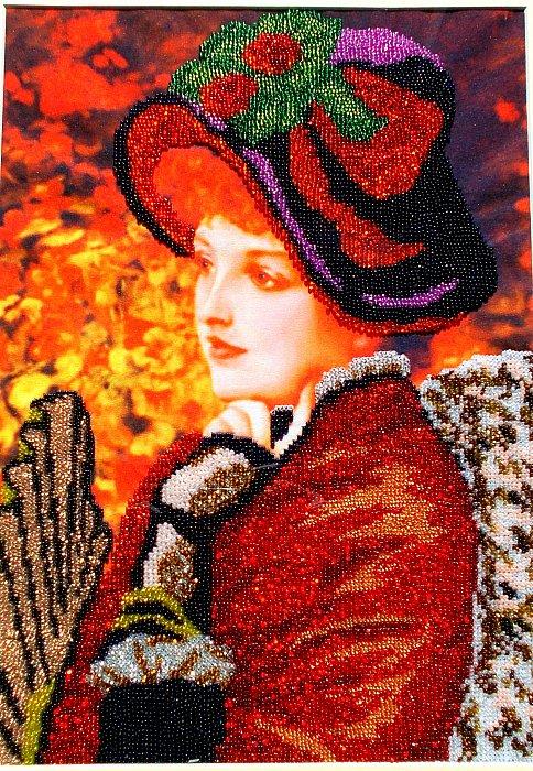 Людмила – Дама с веером