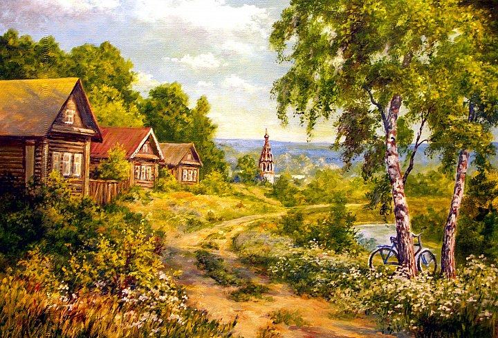 Виктор Андреев – Летом в деревне