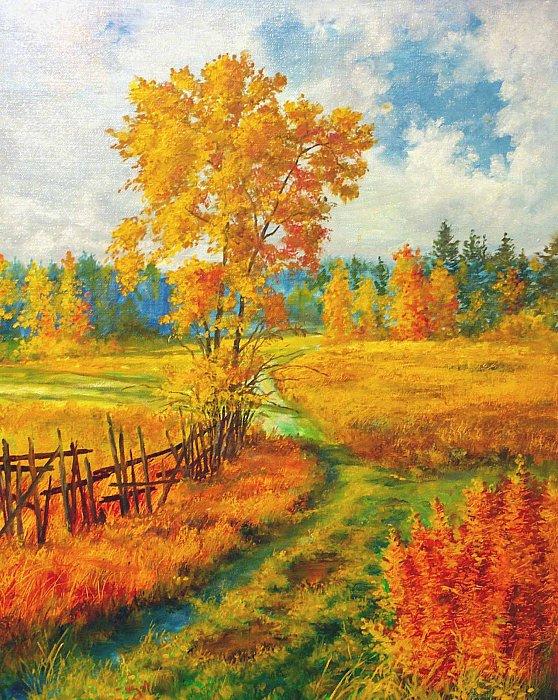 Осень за околицей