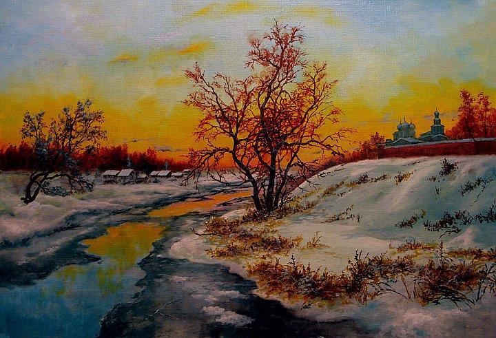 Виктор Андреев – Весенний закат
