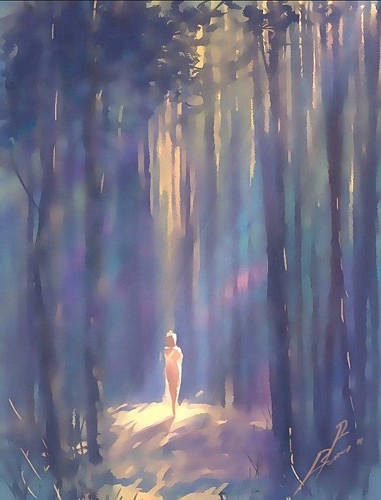 Услышать лес