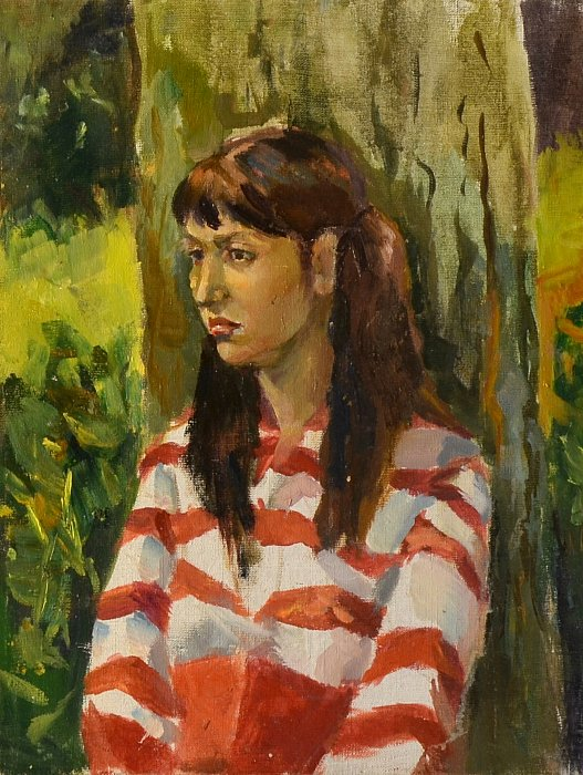 girl from Polotsk 45x35 ~ Алеся Исса
