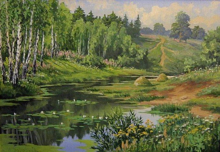 Воробьев Игорь – летний день на реке
