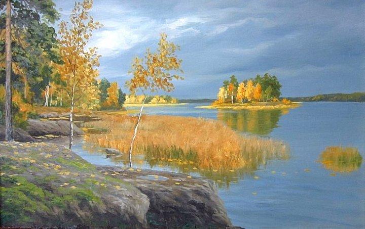 Воробьев Игорь – Осень в Монрепо
