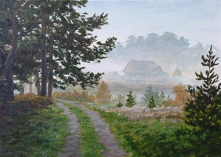 Утро на хуторе