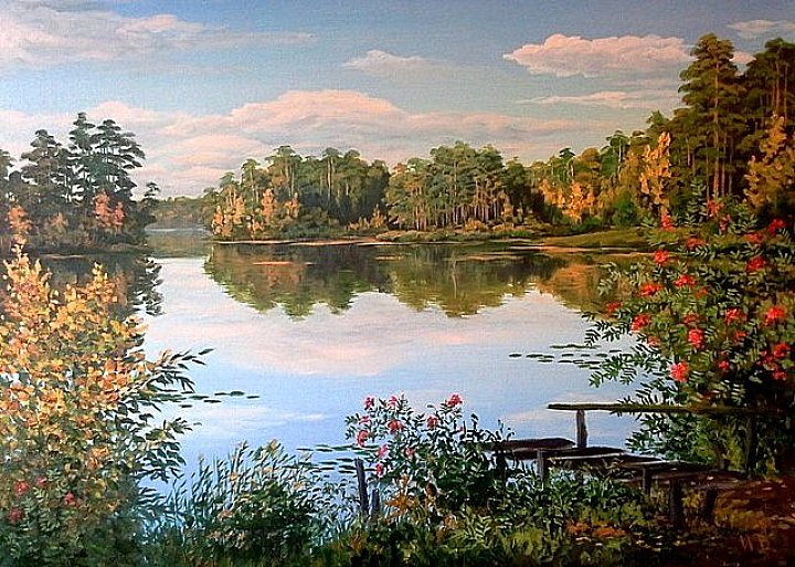 В краю озер. Сентябрь