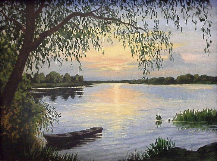 Воробьев Игорь – Вечер на озере