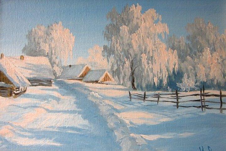 Воробьев Игорь – Зима в деревне