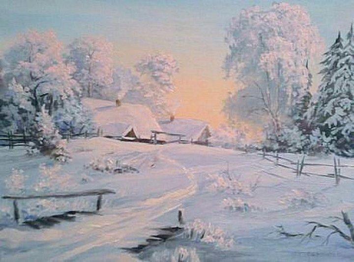 Воробьев Игорь – Зимний вечер