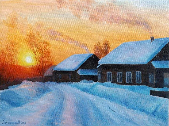 Наталия Задворнова – Морозный вечерок