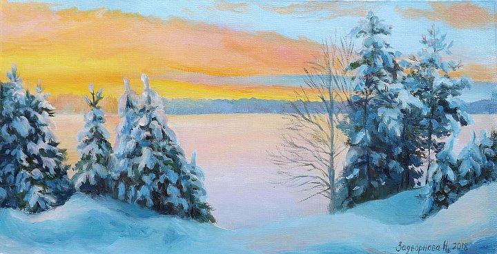 Наталия Задворнова – Морозный закат